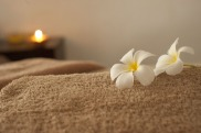 Relaxing massage treatment