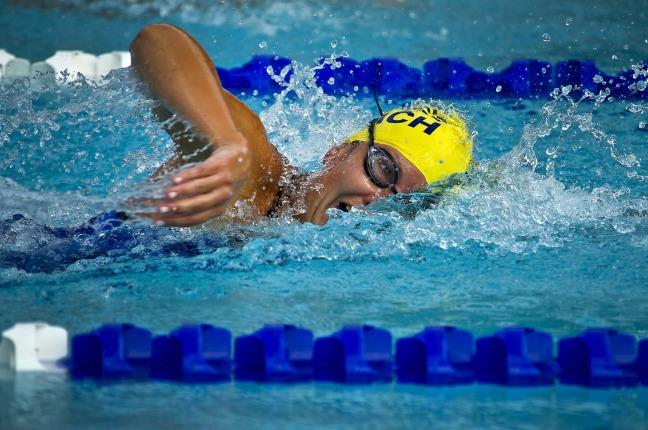 Triathalon Swimming